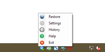 Right Click Menu While Minimize